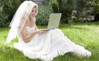 Как правильно подать заявление в загс онлайн через интернет: пошаговая инструкция. Виртуальная свадьба через интернет — серьезные отношения или шутка
