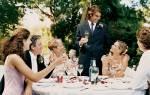 Тосты на годовщину свадьбы своими словами. Тосты на свадьбу: короткие в стихах. Какие ещё веселые тосты можно сказать на свадьбе