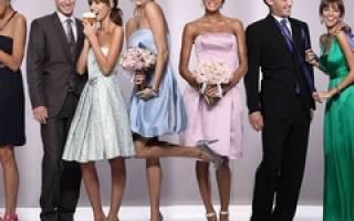 В чем пойти на свадьбу? Рекомендации для приглашенных. Что одеть на свадьбу подруги, родни или просто знакомых