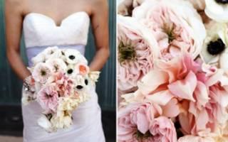 Невесты в платье розовый айвори. Какие аксессуары сочетаются с платьем цвета ivory. Подбираем цветы в зависимости от оттенка айвори