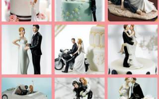 Жених из мастики. Как сделать фигурки жениха и невесты на торт своими руками. Стилизированные фигурки для торта