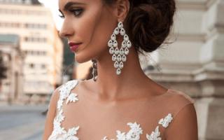 Укладка на свадьбу на средние волосы. Эффектная прическа бублик или пучок. Инструкция по созданию причёски своими руками
