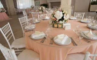 Свадьба в цветочном стиле. Персиковая свадьба: основные моменты. Персиковая свадьба: оформление банкета