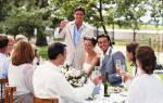 Как креативно поздравить молодоженов на свадьбе сестры. Интересные поздравления с днем свадьбы