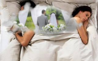 К чему снится сон свадьба. К чему снится Свадьба Мужчине? Свадьба бывшего мужа
