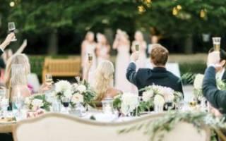 Свадебное меню — что должно быть на столе. Горячее меню на свадьбу: красиво, сытно, разнообразно