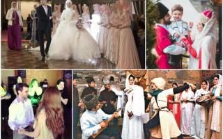 Что дарят на чеченскую свадьбу. Традиции чеченской свадьбы