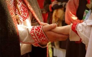 Как проходили свадьбы у славян. Свадьба в славянском стиле