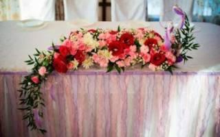 Флористика в украшении свадебного стола. Ключевые составляющие в оформлении свадьбы цветами. Живые цветы или искусственные