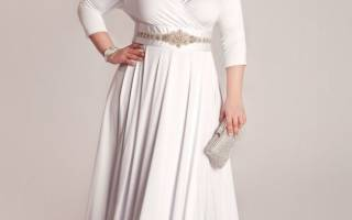 Свадебный наряд для полной невесты. Как одеждой скрыть бока и живот? Декор и аксессуары