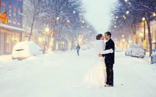Зимнее оформление свадьбы в коттедже. Свадебные зимние наряды. Как организовать свадьбу в зимнем стиле
