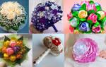 Создаем красивый и оригинальный букет невесты своими руками. Как сделать красивый и оригинальный цветочный букет своими руками? Как делать цветочный букет по спирали