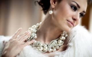 Жемчуг для невесты приметы. Можно ли надевать жемчуг на свадьбу? Свадьба в стиле жемчуга – что характерно и как организовать
