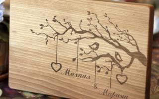 Поздравления с деревянной свадьбой детей. Поздравления с деревянной свадьбой