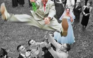 Оригинальный короткий выкуп невесты. Лучшие свадебные сценарии выкупа невесты