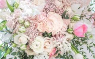 Приметы к свадьбе найти букет. Самые распространенные приметы, связанные со свадебным букетом