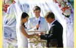Когда лучше играть свадьбу в году. К сожалению, по вашему запросу ничего не найдено