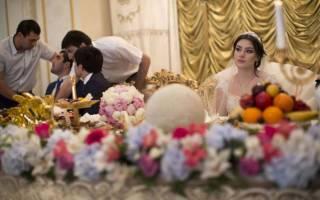 Как проходит дагестанская свадьба. Дагестанская свадьба